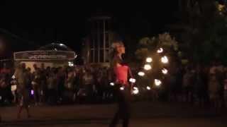 Огненное шоу в Лазаревском 2014
