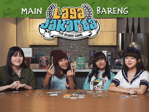 Main Bareng Jeanice, Donna, Gigi & Edelyn: Laga Jakarta