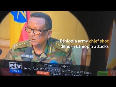 Bodyguard kills army chief Gen Seare Mekonnen in Ethiopia attacks