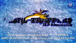 ijshockey vechtparty: RENO DE HONDT komt wederom op voor NICK DE RUIJTER
