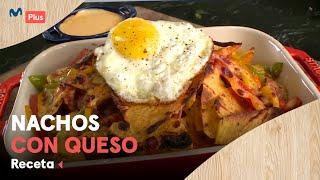 Receta: Nachos con queso | Cocina en un toque
