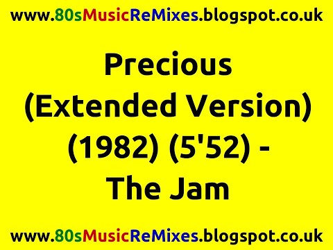 Precious (Extended Version) - The Jam   Paul Weller   80s New Wave Bands   80s Pop Music   80s Pop