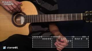Feliz Navidad - Jose Feliciano Tutorial Guitarra