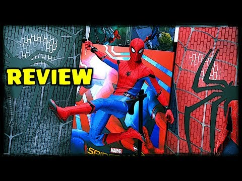 HOT TOYS REVIEW : SPIDER-MAN HOMECOMING TECH SUIT
