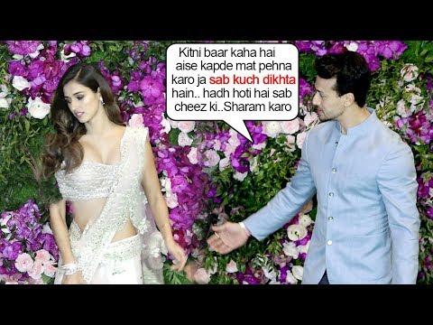 Tiger Shroff FIGHTS With Girlfriend Disha Patani Again At Ambani's WEDDING Ceremony Reception thumbnail