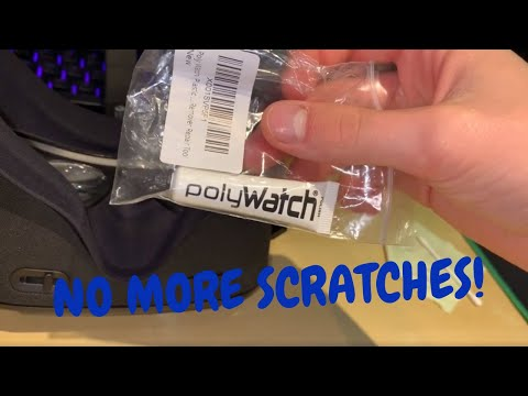 REMOVE ALL SCRATCHES From Your Oculus Quest - Fixing My VR Headset Lenses Using Polywatch.