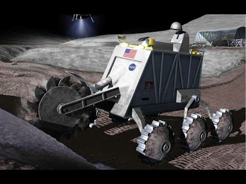 Mining the Moon with Robots  :  Documentary on NASA and Desi