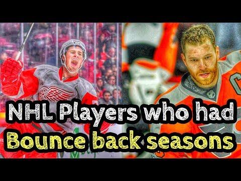 NHL Players Who Bounced BACK This Season