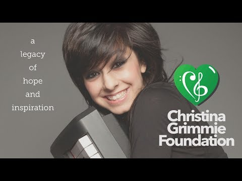 Christina Grimmie Foundation Official Video