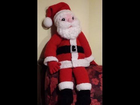 Amigurumi Tutorial Natale : Tutorial Babbo Natale alluncinetto amigurumi parte III ...