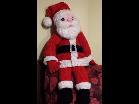Babbo Natale Alluncinetto Amigurumi Parte Iii Natale All