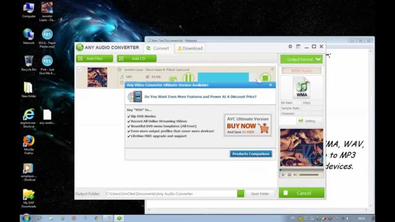How To Convert Any Audio File With Any Audio Converter