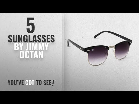 3972993b25b3 Top 10 Jimmy Octan Sunglasses [2018]: Jimmy Octan Non-Polarized Browline  Men's - YouTube