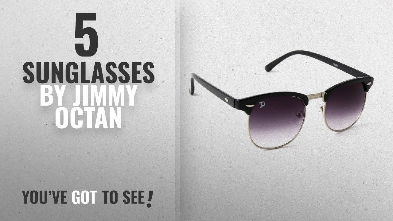 8ee9e4fa54cc Top 10 Jimmy Octan Sunglasses [2018]: Jimmy Octan Non-Polarized Browline  Men's