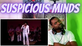 FIRST TIME HEARING Elvis Presley - Suspicious Minds Live in Las Vegas REACTION