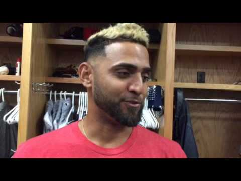 Cleveland Indians' Danny Salazar can't wait for Wednesday nigh's start.
