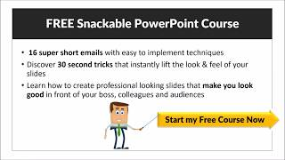 Sign Up For 16 PowerPoint Tips Snackable Email Course