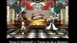 [Guilty Gear XX Accent Core] Complete Tutorial