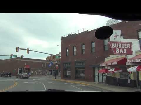 A drive down State Street in Bristol, VA/TN