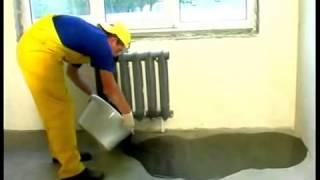 Укладка наливных полов Polimin