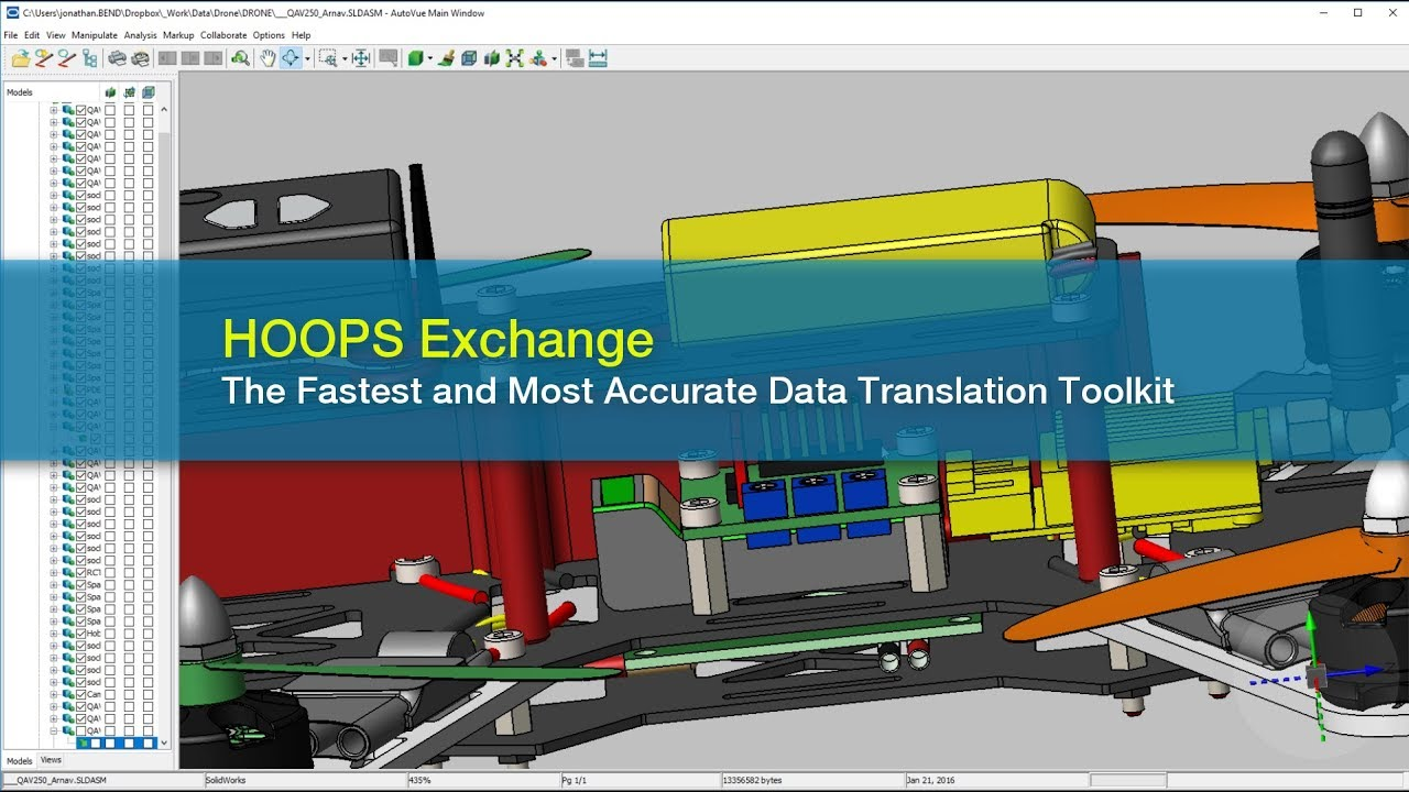 HOOPS Exchange | CAD Data Translation Software SDK | Tech Soft 3D
