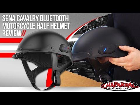 Sena Cavalry Bluetooth Motorcycle Half Helmet Review