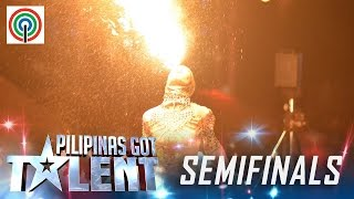 Pilipnas Got Talent Season 5 Semifinals: Amazing Pyra - Fire Dancer