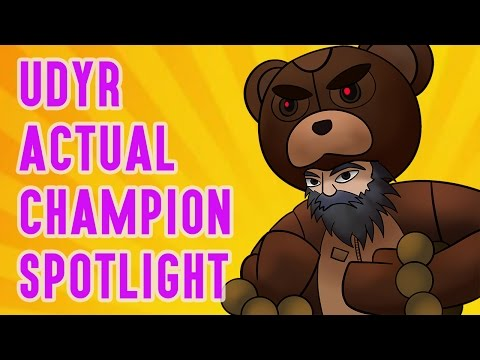 Udyr ACTUAL Champion Spotlight