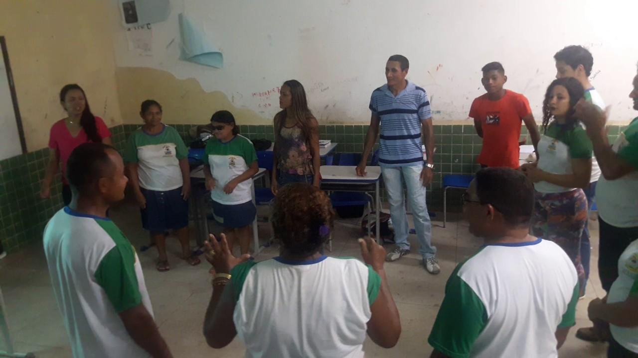 Dinâmica Com Alunos Do 2 E 3 Anos Da Eja Escola Maria Das Neves 2017