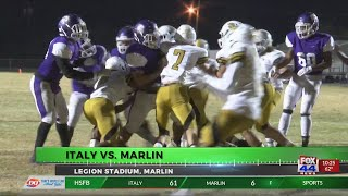 Friday Night Football Fever Italy vs Marlin