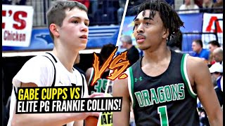 Gabe Cupps vs Elite PG Frankie Collins Was a HYPE Match Up! AZ Compass IS TOO STACKED!