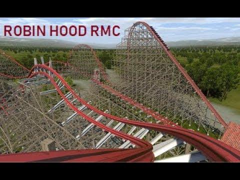 Robin Hood RMC Conversion at Walibi Holland