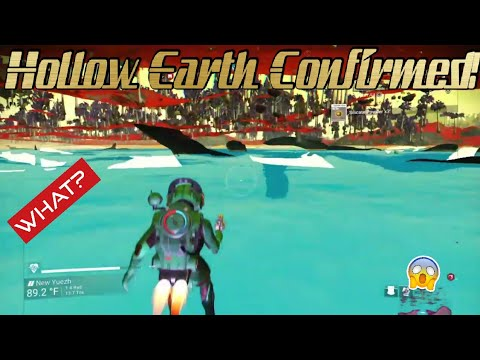 Hollow Earth(?) Confirmed! (No Man's Sky Live)