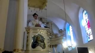 Serock ślub Agnieszki i Ariela NFRR kazanie x. Grzegorz Śniadoch