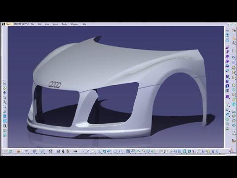 Catia V5 Tutorials|Wireframe and Surface Design|Sweep