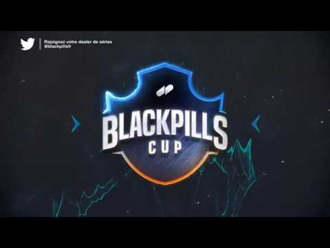 BlackPills Cup Stream Assets Design