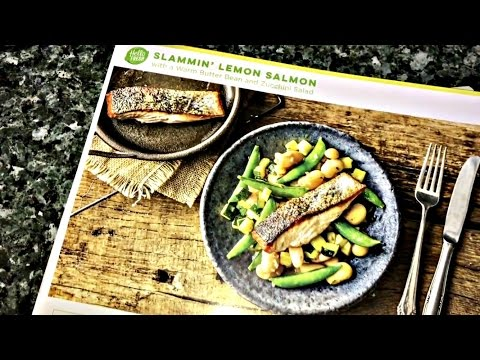 COOK WITH US! Hello Fresh: First Impression (Slammin' Lemon Salmon Review)
