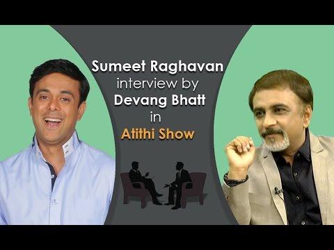 Best Comedy Serial Actor Sumeet Raghavan Interview by Devang Bhatt