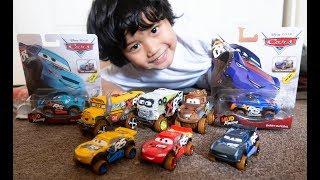 DISNEY CARS XTREME RACING SERIES XRS Lightning McQueen Barry DePedal Cruz Ramirez Diecast Toy Review