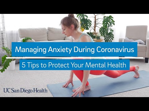 5 Tips to Manage Anxiety during Coronavirus
