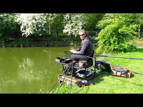 A Short Session Carp And Bream Pole Fishing At Horseshoe Lake