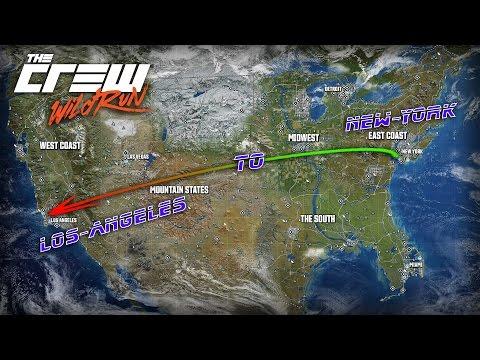 The Crew - Wild Run (New-York to Los-Angeles) (PS4)