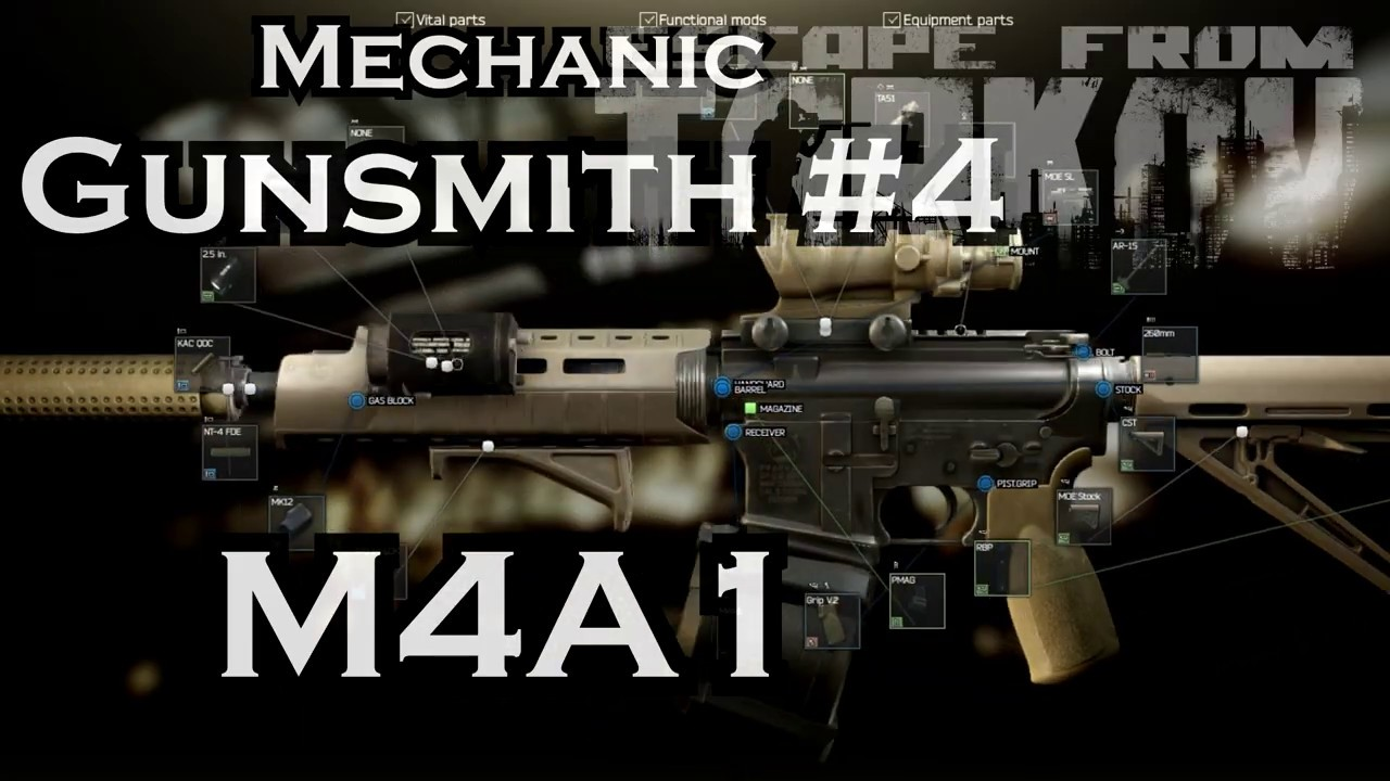 Gunsmith Part 7 Mechanic Task Guide 0 12 Escape From Tarkov By Piranha Read gunsmith cats chapter 9 online for free at mangafox.fun. cyberspaceandtime com
