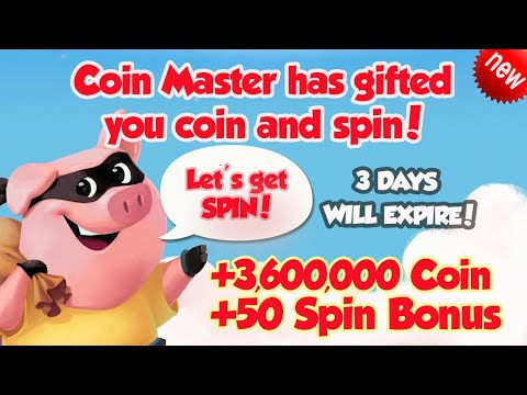 Free Spin Coin Master 06 01 2021
