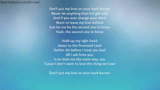 CHRIS STAPLETON Second One To Know Lyrics