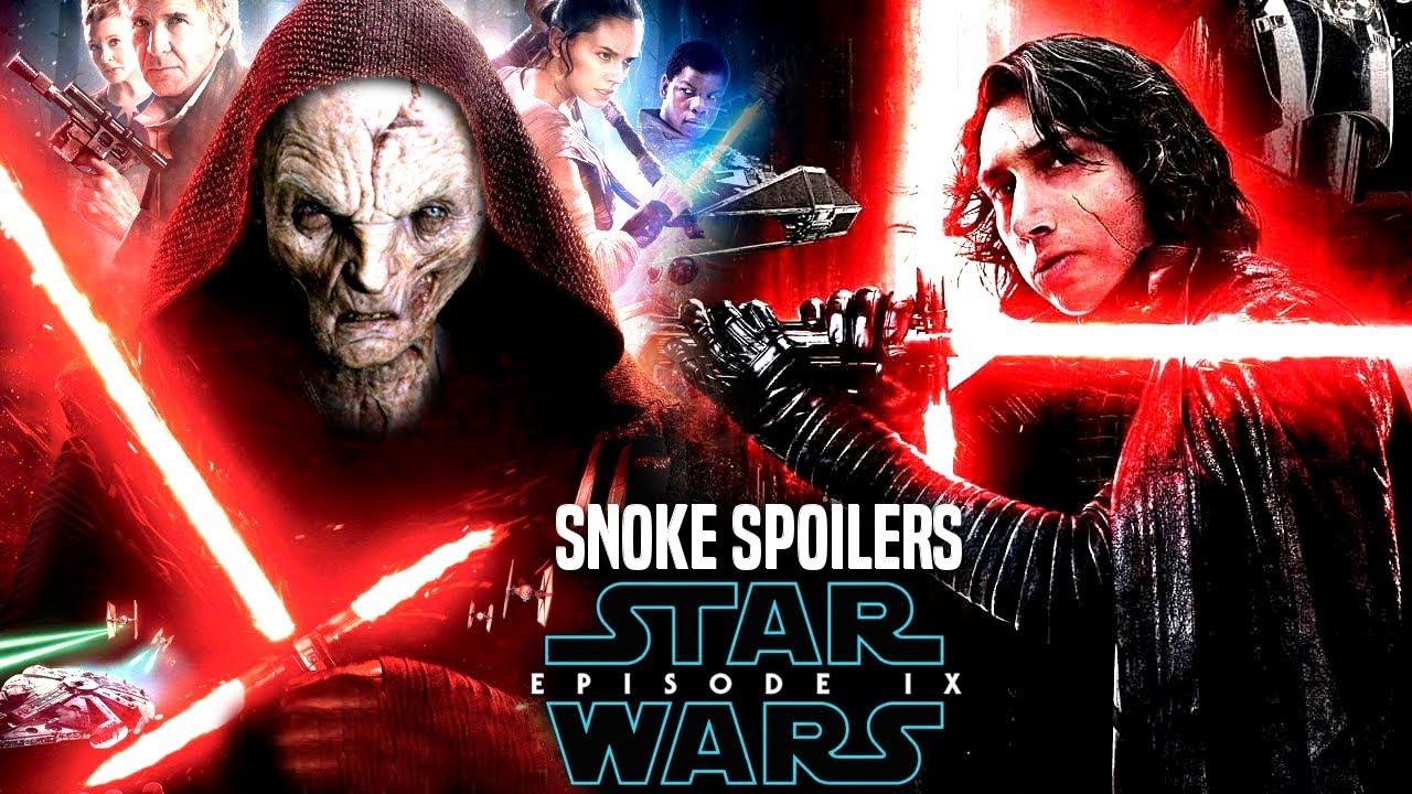 Star Wars Episode 9 Snoke Spoilers Will Shock Fans More Star Wars News