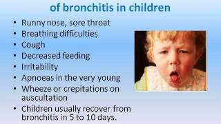 Bronchitis in Childen