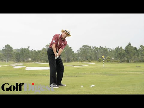 David Leadbetter Teaches The A Swing Backswing | Golf Lessons| Golf Digest