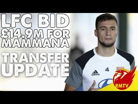 Liverpool Bid £14.9m For Mammana | LFC Daily News LIVE