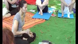 Катя Степанова, Янтра йога, лекция 06.09.11, Yoga Open Air